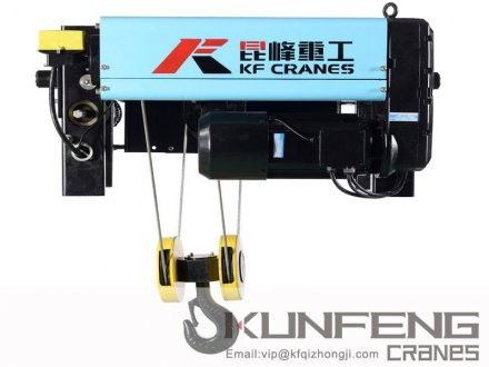 <b>European Type Wire Rope Hoist</b>